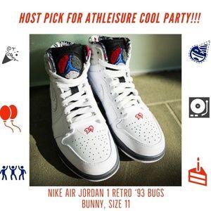 63f016867d Nike Shoes | Host Pick Air Jordan 1 Retro 93 Bugs Bunny | Poshmark